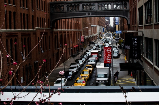 Chelsea streets, from The High Line