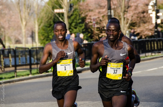 Front runners, Cherry Blossom Ten Mile Run