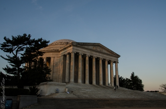 Thomas Jefferson Memorial at sunrise