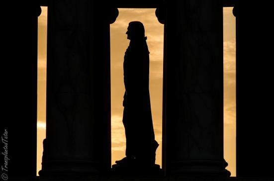 Thomas Jefferson Memorial at sunrise