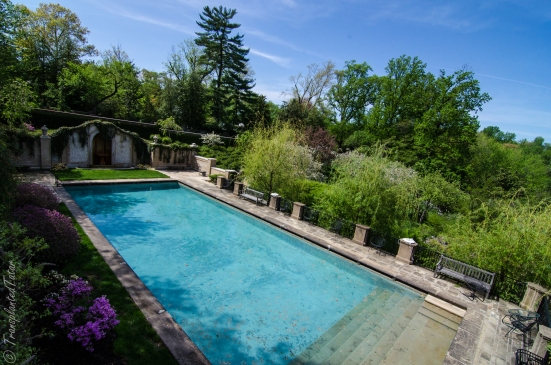 Dumbarton Oaks, Swimming Pool and Loggia