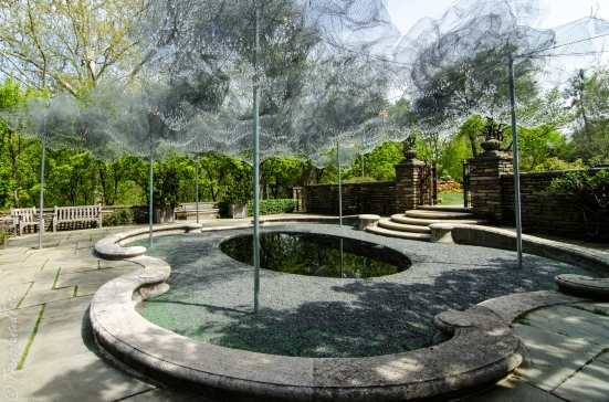 The Cloud Terrace installation, Dumbarton Oaks, Washington DC
