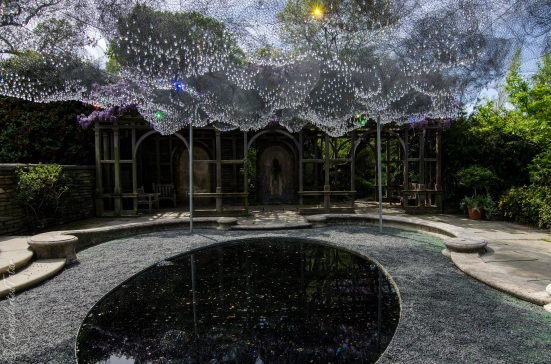 The Cloud Terrace installation at Dumbarton Oaks