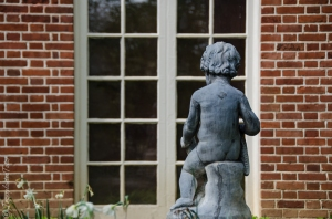 Boy in the Bird Bath Garden, Dumbarton Oaks