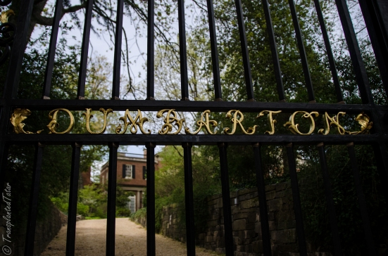 Dumbarton Oaks gate
