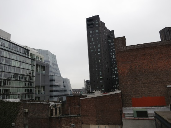 Chelsea cityscape, The High Line, NYC