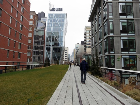 This High Line - a place for a picnic