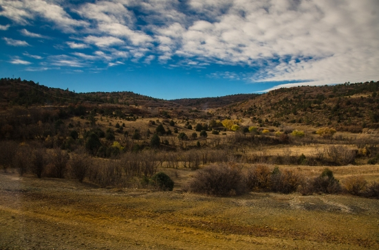 DC to Arizona, train views