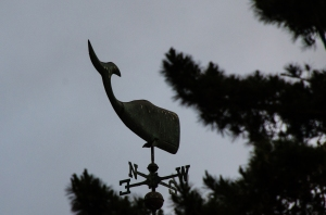 Weathervane in Carmel, CA
