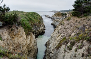 Point Lobos State reserve cliffs