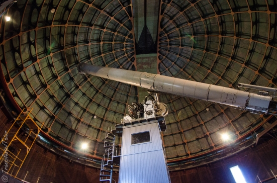 "36"" Refractor telescope at Lick Observatory"