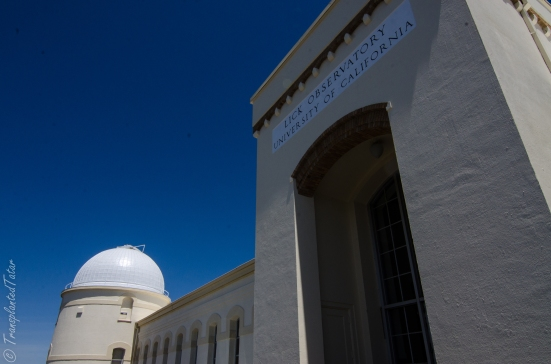 Entrance to Lick Observatory, Mount Hamilton, California