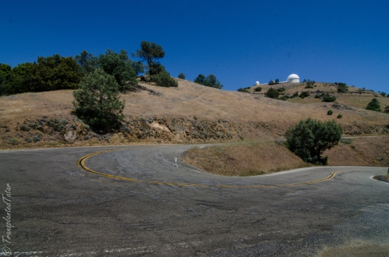 Winding Road to Lick Observatory
