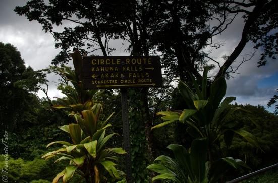 Entrance to Akaka Falls State Park