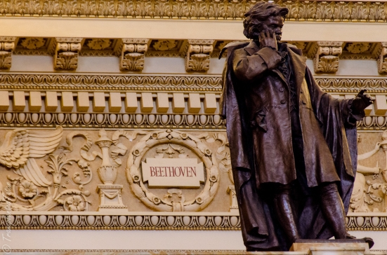 Beethoven, Main Reading Room, Library of Congress