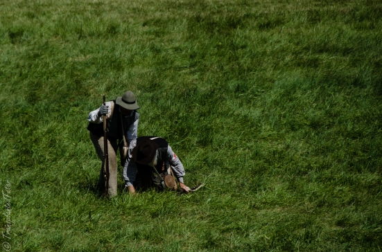 Casualties, 150th Anniversary Battle Reenactment, Gettysburg