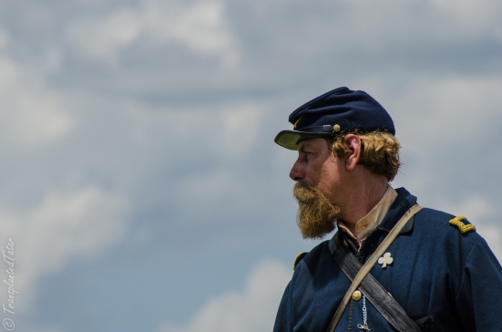 Faces of the 150th Reenactment of the Battle of Gettysburg