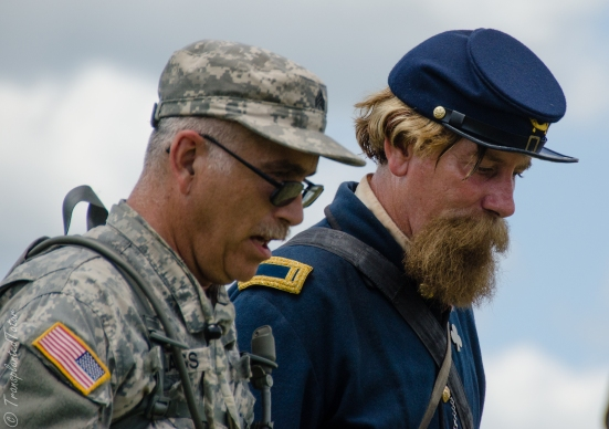 Faces of the 150th Anniversary Gettysburg Battle Reenactment