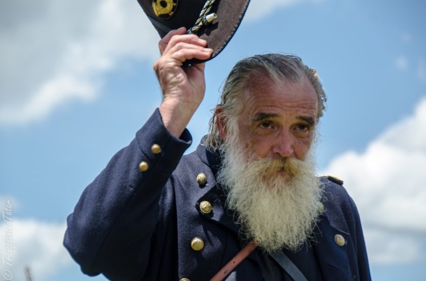 Participant of the 150th Anniversary Battle of Gettysburg Reenactment, July 2013