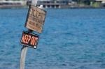 Sign by the Ahu'ena Heiau, Kailua-Kona, Hawaii