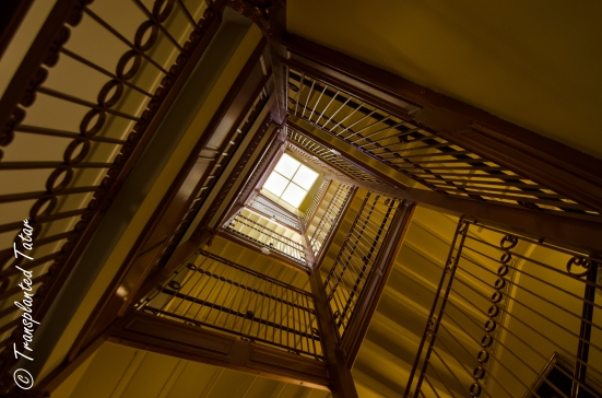 Staircase at the Virginia State Capitol