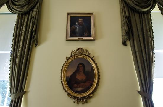 Virginia Capitol - Pocahontas and John Smith