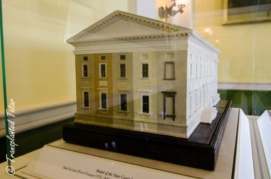 Virginia Capitol was different colors through the centuries