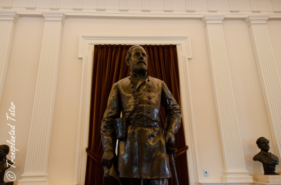 General Lee at Virginia Capitol