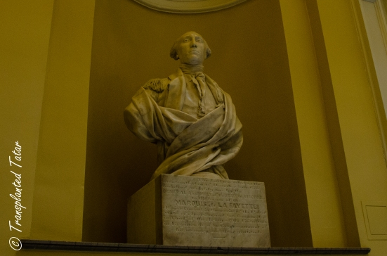 Lafayette bust at Virginia Capitol