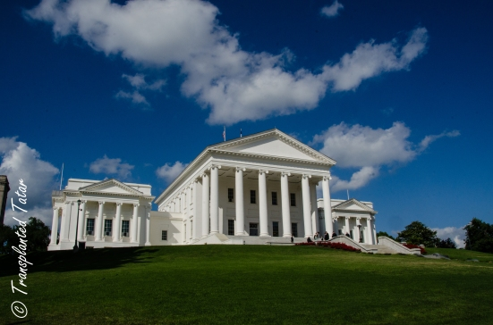 Virginia Capitol in Richmond, USA