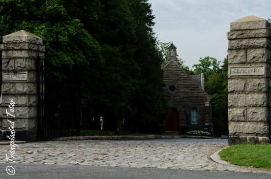 Entrance to Hollywood Cemetery, Richmond, VA