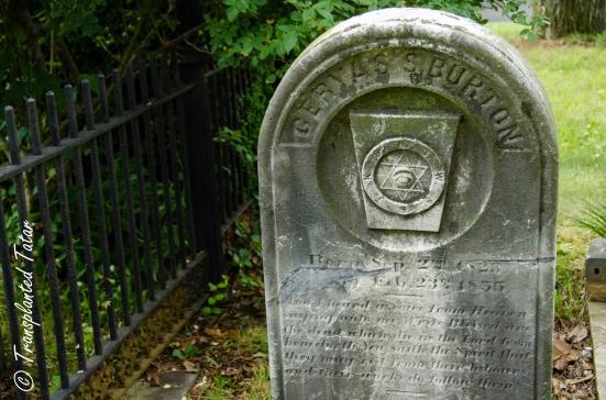 Hollywood Cemetery masonic headstone, Richmond, VA
