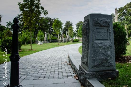 Entrance to Presidents Circle, Hollywood Cemetery, Richmond, VA