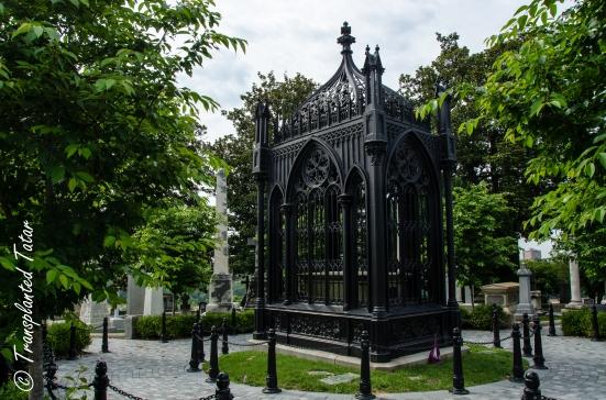 """Bird cage"" tomb of James Monroe, Richmond, Virginia"