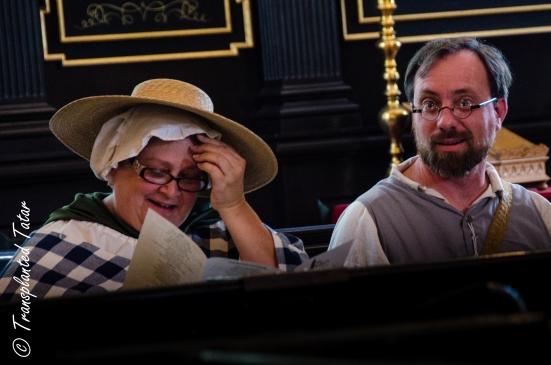 Reenactors at St. John's Church, Richmond, VA