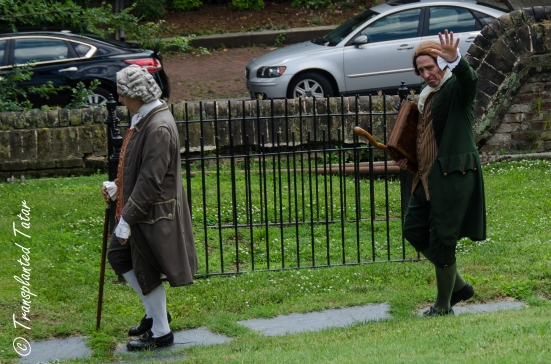 Reenactors of Second Virginia Convention, St. John's Church, Richmond, Virginia