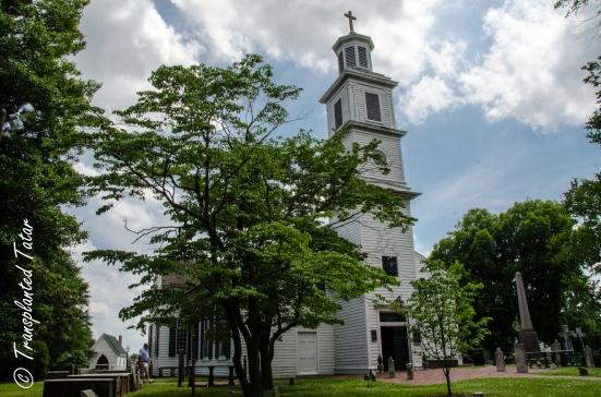 The historic St. John's Church, Richmond, Virginia