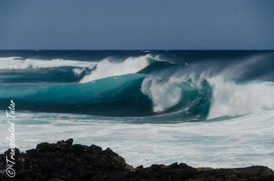 Waves at South Point, Big Island, Hawaii