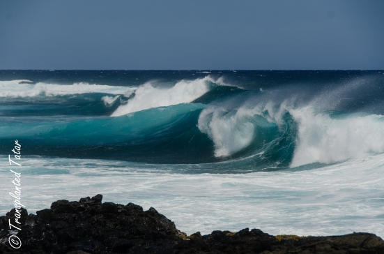 Waves at South Point, Big Island, Hawaii