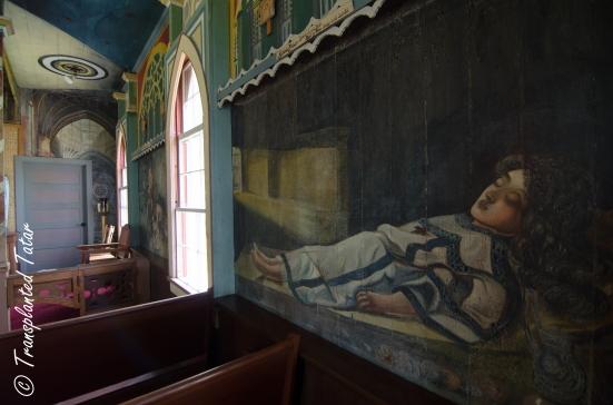 Good Death mural, Painted Church, Hawaii
