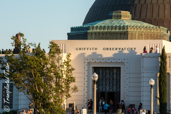 Entrance to the Griffith Observatory