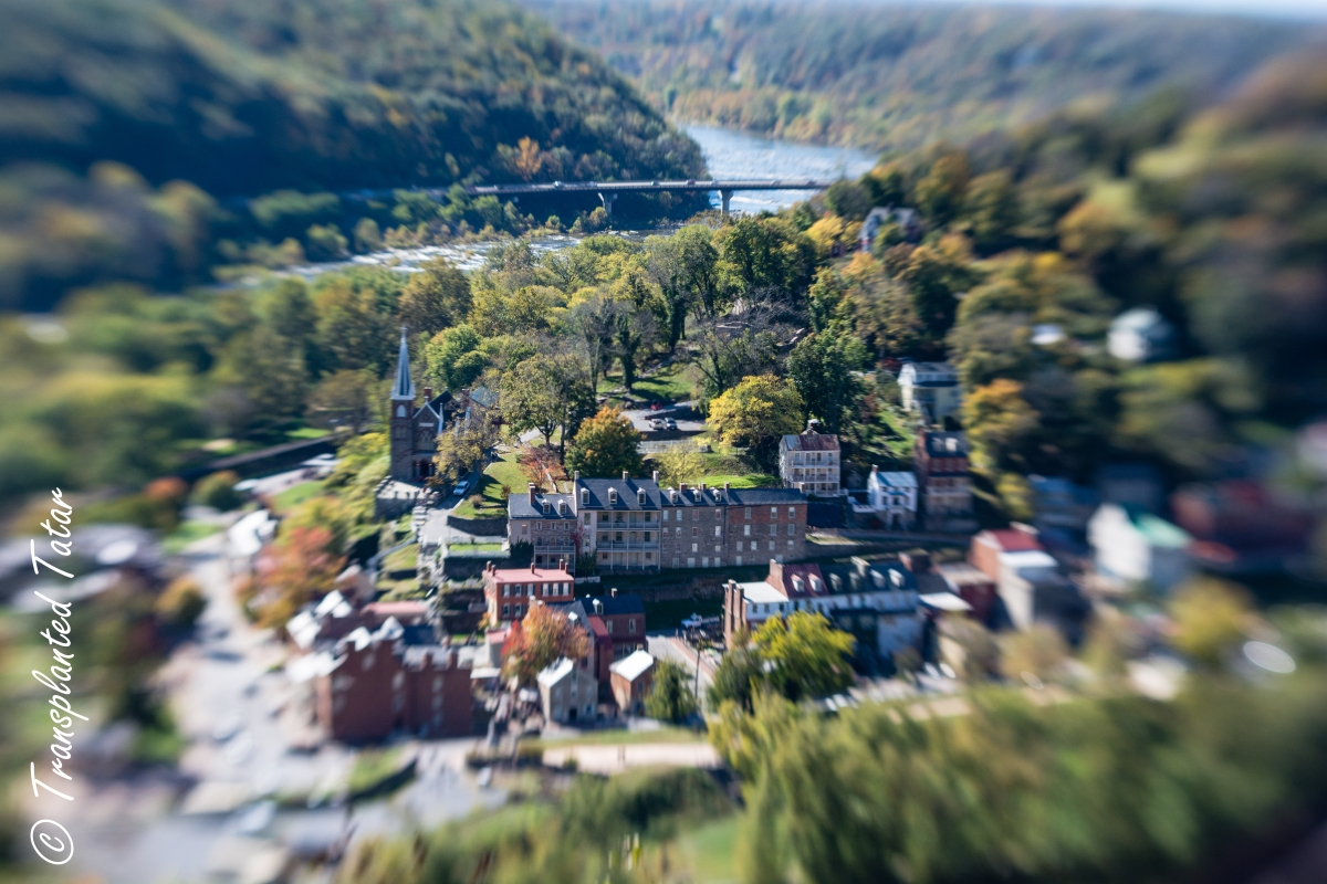 Hiking over Harpers Ferry