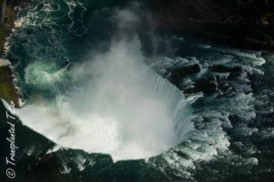 Aerial view of Horseshoe Falls, Niagara Falls, Canada