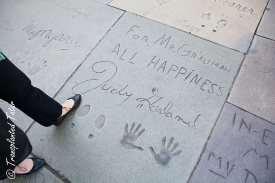 Judy Garland, Forecourt of Start, Grauman's Chinese Theater, Los Angeles