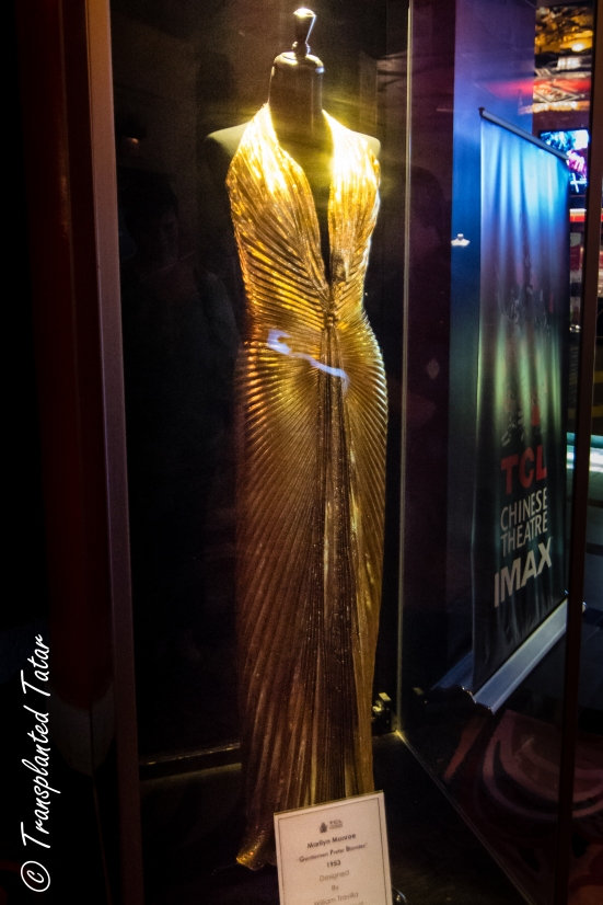 Marilyn Monroe's dress at Grauman's Chinese Theater