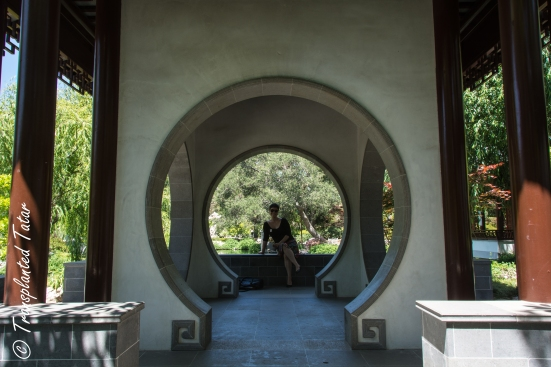Architecture of Garden of Flowing Fragrance, Huntington Library