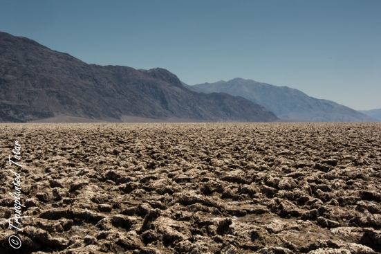Salt pan of the Devil's Golf Course, Death Valley National Park