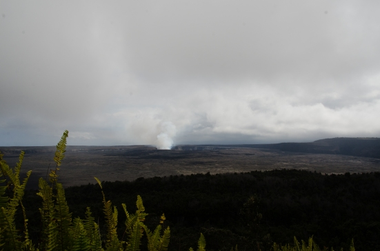 View from Volcano House, Hawaii Volcanoes National park