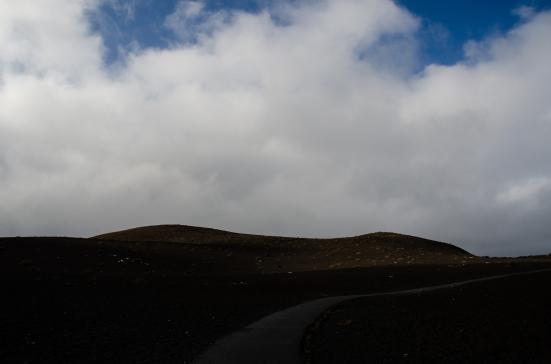 Cinder mounds along The Devastation Trail, Hawai'i Volcanoes National Park, Big Island