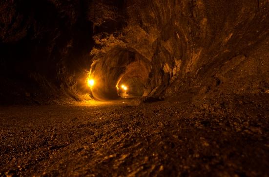Inside Nahuku, Thurston Lava Tube, Hawaii Volcanoes National Park
